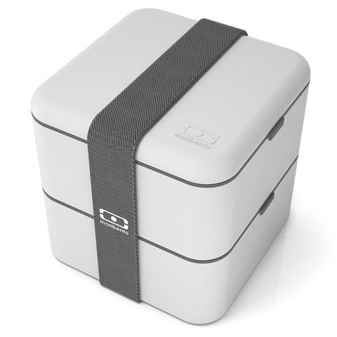 Ланч-бокс MB Square светло-серый Monbento 1200 13 110