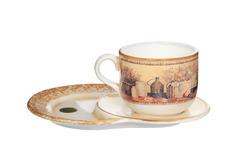Чашка на маленьком подносе Натюрморт LCS 14282