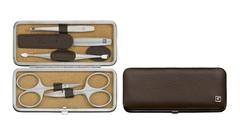 Маникюрный набор 5 пр. TWINOX темно-коричневый Zwilling 97063-006