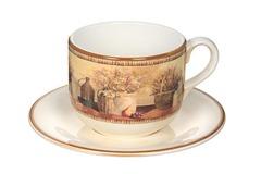 Чашка с блюдцем Натюрморт LCS 14266