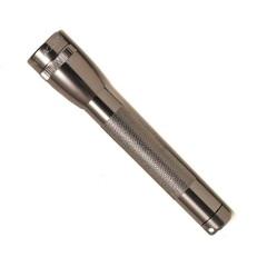 Фонарь MAGLITE Mini,  14.6 см, серый, 2-АА, пластиковая коробка M2A09LE