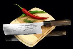 Нож кухонный стальной Накири (165мм) Tojiro Shippu FD-598