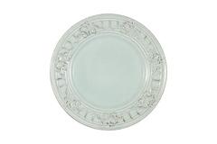 Тарелка закусочная Venice (голубая) без инд.упаковки Matceramica 56428