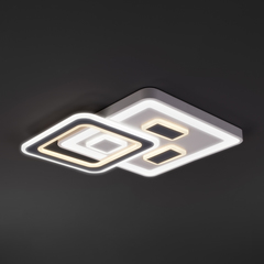 Потолочный светодиодный светильник с пультом управления Eurosvet Concord 90156/1 белый