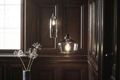 Лампа подвесная Kyoto Slim, серая Frandsen 1529_26505001