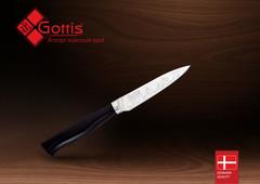 Нож кухонный стальной овощной Gottis (арт.175)