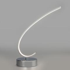 Настольный светодиодный светильник с сенсорным выключателем Eurosvet Rush 80416/1 хром