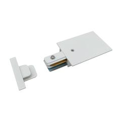 Ввод питания и заглушка торцевая для однофазного встраиваемого шинопровода (белый) TRPF-1-WH Elektrostandard