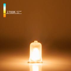 Лампа галогенная G9 220 В 40 Вт матовая Elektrostandard
