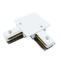 Коннектор угловой для однофазного встраиваемого шинопровода (белый) TRCM-1-1-L-WH Elektrostandard
