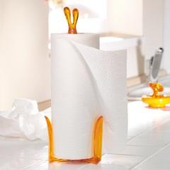 Держатель бумажных полотенец 'Кролик Роджер' белый Koziol 5226525