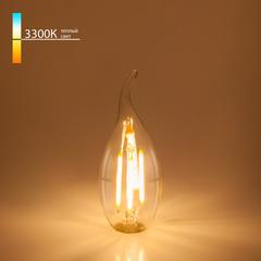 Светодиодная лампа Свеча на ветру BL130 7W 3300K Elektrostandard