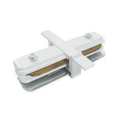 Коннектор прямой для однофазного встраиваемого шинопровода (белый) TRCM-1-I-WH Elektrostandard