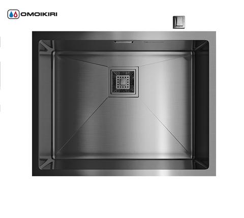 Кухонная мойка из нержавеющей стали OMOIKIRI Akisame 54-U-GM (4993107)