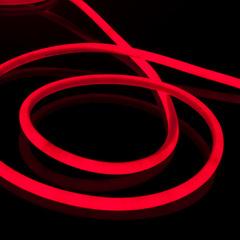 Набор гибкого неона круглого красного 10 м 9,6 Вт/м 120 LED 2835 IP67 16 мм LS002 220V Elektrostandard