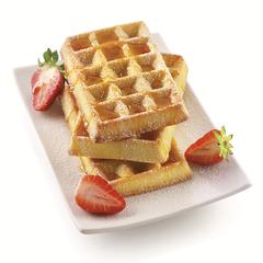 Форма для приготовления вафель Waffel Classic силиконовая золотая Silikomart 26.155.63.0065