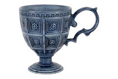 Кружка Augusta (синий)  без инд.упаковки Matceramica 57530