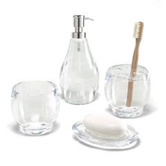 Стакан для ванной Droplet прозрачный Umbra 020161-165