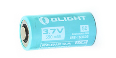 Аккумулятор Li-ion Olight ORB-163C05 16340 3,7 В. 550 mAh 927185