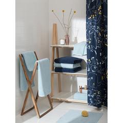 Полотенце банное фактурное голубого цвета из коллекции Essential, 90х150 см Tkano TK20-BT0001