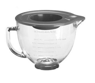 Чаша стеклянная, 4.83л KitchenAid 5K5GB фото
