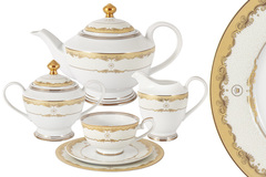 Чайный сервиз Корона 23 предмета на 6 персон Midori 57622
