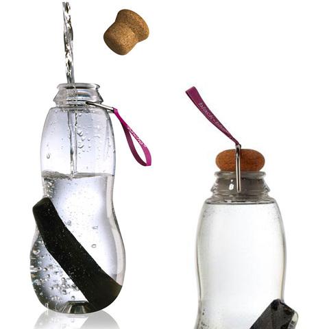 Эко-бутылка Eau good с фильтром фиолетовая