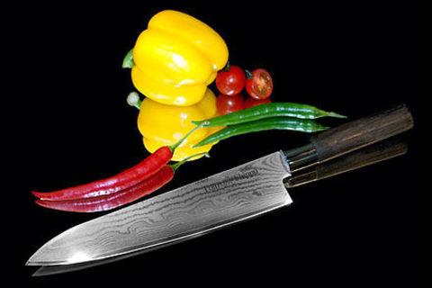 Нож кухонный стальной Шеф (240мм) Tojiro Shippu FD-595