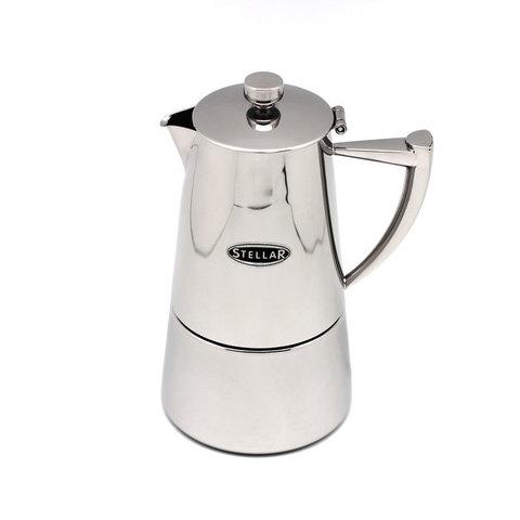 Кофеварка эспрессо 6 чашек Silampos Art Deco 41281318SC63