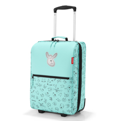 Чемодан детский Trolley XS cats and dogs mint Reisenthel IL4062