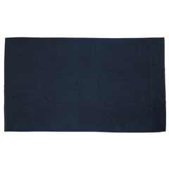 Полотенце банное фактурное темно-синего цвета из коллекции Essential, 90х150 см Tkano TK20-BT0003