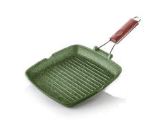 Литая сковорода-гриль Risoli Dr Green Light 26см 0092DR/26GS0