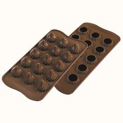 Форма для приготовления конфет Choco Flame силиконовая Silikomart 22.147.77.0065