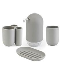 Стакан для зубных щеток Touch серый Umbra 023271-918