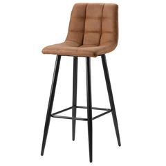 Стул барный Berg Chilli, экокожа, коричневый BEST-HUPK02