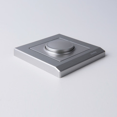 Рамка на 1 пост (серебряный) WL04-Frame-01 Werkel