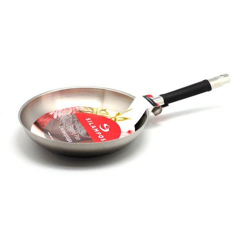 Сковорода коническая 26 см Silampos Маск сатин 63C124CQ5626