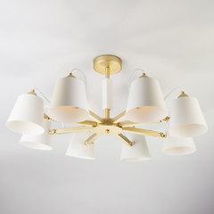 Светильник в стиле лофт с поворотными рожками Eurosvet Frozen 70083/8 золото