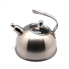 Чайник со свистком, матовый 2,7л Silampos 411307312620S
