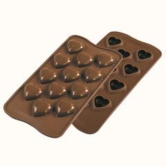 Форма для приготовления конфет My Love силиконовая Silikomart 22.148.77.0065