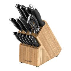 Набор из 12 кухонных ножей, ножниц, мусата и подставки BergHOFF 1307144*