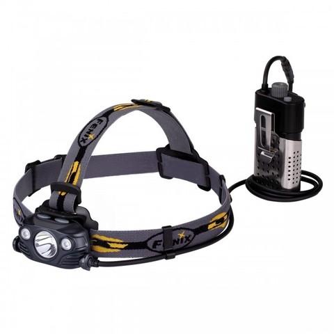 Фонарь светодиодный налобный Fenix HP30R черный, 1750 лм, аккумулятор*