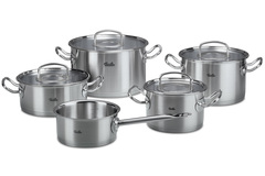 Набор кастрюль Fissler Original pro collection, 5 пр. (крышка/стекло) 41546