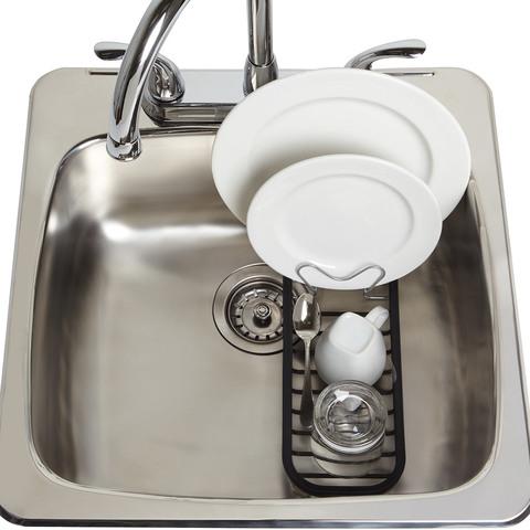 Сушилка для посуды Umbra SINKIN MINI чёрный/никель 1004293-047
