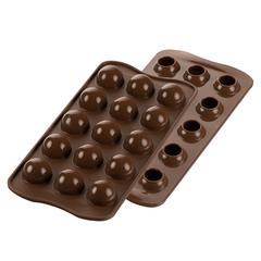 Форма для приготовления конфет Tartufino силиконовая Silikomart 22.150.77.0065
