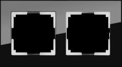 Рамка на 2 поста (черный) WL01-Frame-02 Werkel