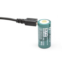Аккумулятор Olight 16340 3,7 В 650 mAh (+USB порт зарядки) 927314
