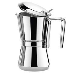 Гейзерная кофеварка 165 мл на 3 чашки, Giannini 3003010S