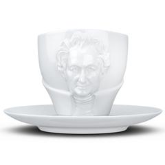 Чайная пара Tassen Talent Goethe, 260 мл, белая T80.11.01