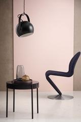 Лампа потолочная Ball с подвесом, ?40 см, черная матовая Frandsen 150465011
